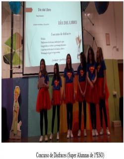 Concurso de Disfraces (Super Alumnas de 1ºESO)